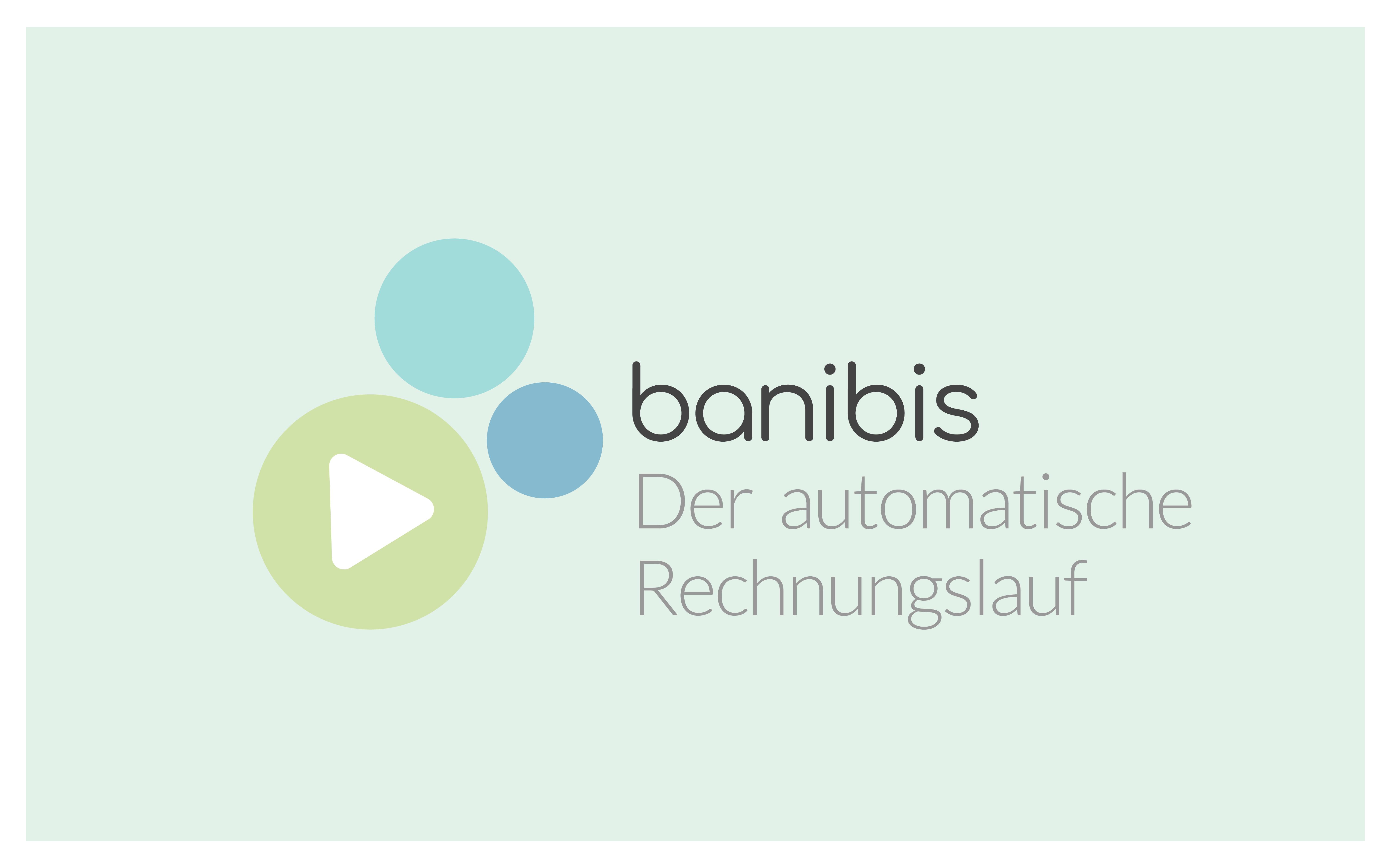 banibis automatischer Rechnungslauf Titelbild Blog