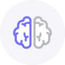 coding icon brain